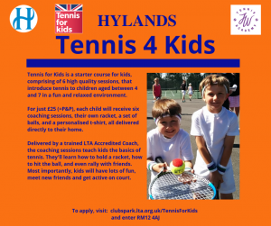 Tennis for kids 2019