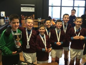 Boys Football Winners