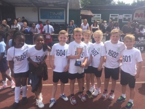 Ardleigh Green Infant year 2 quad kid winners