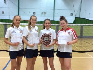 Year 7/8/9 girls winners