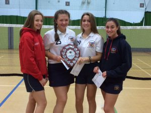 Year 10/11 girls winners