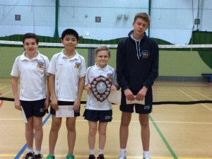 Year 7/8/9 boys winners