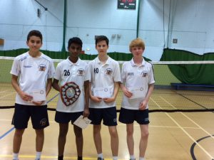 Year 10/11 boys winners